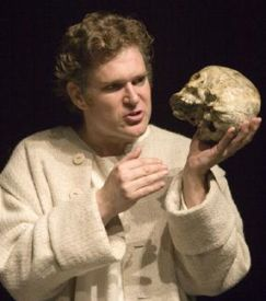 Ben Carlson as Hamlet Chicago Shakespeare Theatre