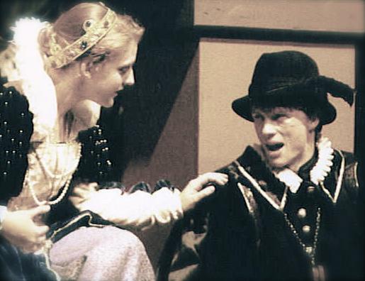Jackie Davies & myself in Hamlet 1995
