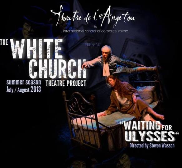 Theatre de l'Ange Fou's Whit Church Project production of Waiting for Ulysses