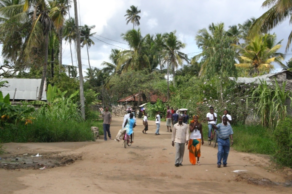 Streets of Quelimane, Mozambique