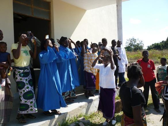 Church in Nicuadala, rural Mozambique