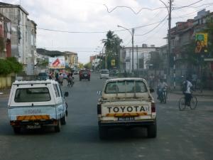 Streets of Quelimane