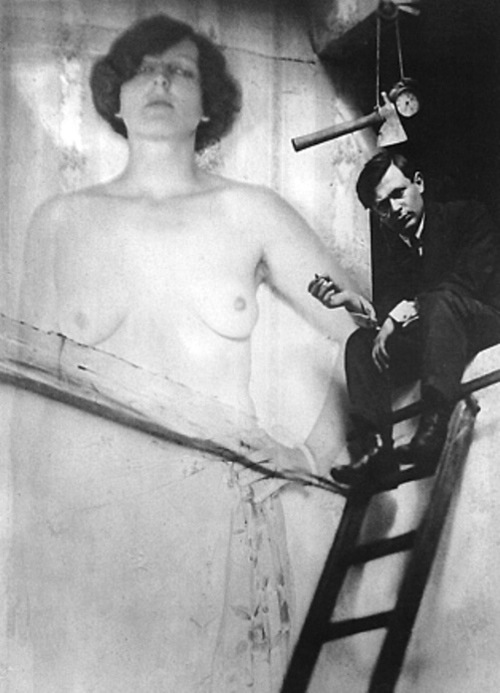 Tristan Tzara, by Man Ray